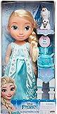 Jakks Pacific Disney Frozen Princesa Elsa 35 cm y Olaf con Set de Té para Dos Tea Time