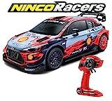 Ninco NincoRacers Hyundai I20 WRC. Coche Radio Control. Batería y Cargador incluidos. +6 años, Color Unknown (NH93163)