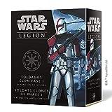 Fantasy Flight Games- Star Wars Legion - Soldados Clon Fase I Expansión de Mejora, Color (SWL55ES)