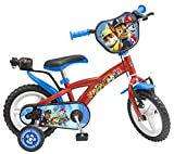 Toimsa Paw Patrol - Bicicleta con ruedas de espuma para niños, 12 pulgadas,