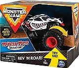 Monster Jam Rev & Roar Trucks 1:43 Mutt Dalmatian vehículo de Juguete - Vehículos de Juguete (Multicolor, Camión, Interior / Exterior, 3 año(s), Niño, 1:43)