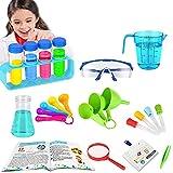 AIPA Juego de experimentos de ciencia para niños de 5 a 7 años, Stem Educación, caja de experimentos con científicos para niños, regalo de ciencia para niños de 4, 5, 6, 7, 8, 9 años