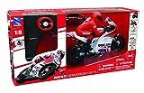 NewRay 88815 'Ducati Desmosedici - C. Stoner No. 4' Modelo de Motocicleta con Control Remoto