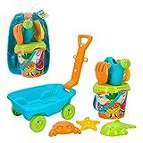 ColorBaby - Set playa con Carretilla Cubo Palas(24967)