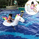 SKY TEARS Niño Unicornio Flotador Inflable Infant Natación Anillo Unicornio Infantil Piscina Asiento Verano en la Piscina como un Regalo para los Bebés