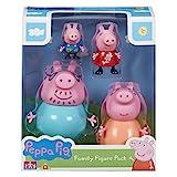 Pack de cuatro figuras de la familia Peppa Pig