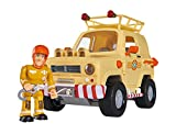 Sam el bombero - Todoterreno Tom con Figura (Simba Dickie 9251001)
