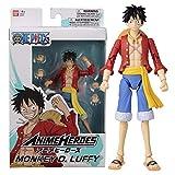 Anime Heroes – Una Pieza – Mono D. Luffy Figura de acción 36931