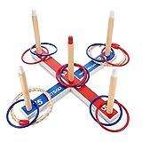 Dreamingbox Juguetes para Niños 3-7 Años, Juego de Lanzamiento de Anillos Juegos Jardin Juguetes Juegos Aire Libre para Niños Regalos Niño 3 4 5 6 7Años Niños Niños