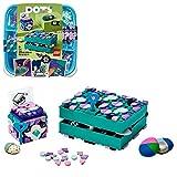 LEGO 41925 Dots Cajas Secretas Joyero Infantil, Kit de Manualidades para Niños y Niñas de a Partir de 6 años, Decoración de Habitación