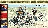 1/35 1/35 Kit de figuras de las Fuerzas Especiales Británicas con Tropas de Apoyo (Afganistán) de Gecko Models