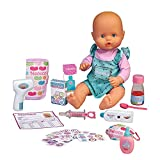 Nenuco - ¿Estás malito?, muñeco bebé con accesorios para ver si está enfermo y jugar a ser médico o enfermera/o y darle todos los cuidados, juguete para niños y niñas de 3 años, Famosa (700016658)