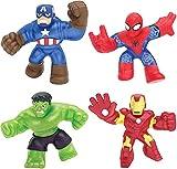 Goo Jit Zu- Marvel 4 Pack (BOTI 37260)