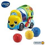 VTech-80-601922 Mixter, camión hormigonera Infantil con más de 75 melodías, Canciones y Voces, enseña Formas, números y a Mezclar los Colores Mediante Luces, Multicolor (3480-601922)