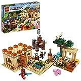LEGO21160MinecraftLaInvasióndelosIllager,JuguetedeConstrucciónparaNiños+8añosBasadoenelVideojuego
