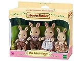 Sylvanian Families - 4108 - Milk Rabbit Family Mini muñecas y Accesorios
