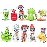 PEDEIECL Plants vs Zombies Serie de Juguetes Show de Personajes Serie de Juguetes PVC Toys