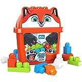 Mega Bloks Cubo Zorro 25 bloques de construcción, juguete para niños +1 año (Mattel GRV22)