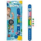 DOTS Bracelets GoTeamPulsera Deportiva Set de Cuentas de Joyería, Arte y Manualidades para Niños, multicolor (Lego ES 41911)