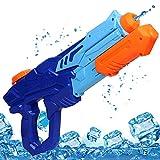 MOZOOSON Pistola de Agua de Juguete para Niñas de Niños, Potente Chorro de Agua con un Alcance Largo 33ft, Water Pistol Gun para Batalla de Agua, Fiestas de Verano al Aire Libre, Capacidad de 750ml