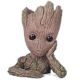thematys® Baby Groot Maceta - Figura de acción para Plantas y bolígrafos de la película clásica - Perfecto como Regalo - Soy Groot (A)