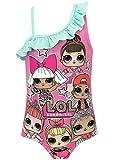 Lol Surprise Bañador para Niña Dolls Rosa 4-5 Años