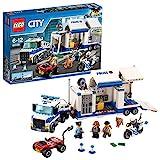 LEGO60139CityCentrodeControlMóvil,JuguetedeConstrucciónconCamión,Coche,MotoyMiniFigurasparaNiñosa Partir de 6años