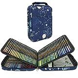 Lápices de Colores Acuarelables, Juego de 120 lápices acuarelables de dibujo artístico en brillantes tonos surtidos, Regalo Ideal para Artistas, Adultos y Niños