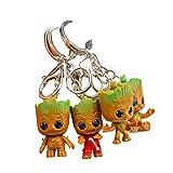 thematys Baby Groot Llavero - Figura de acción de la película clásica - Perfecto como Regalo - I Am Groot (Style4)