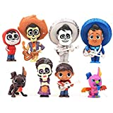 Set de 8 muñecas Coco Miguel Hector Dante Imelda Pepita Figura de acción Modelo de Juguete