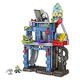 Fisher-Price Imaginext Minions Laboratorio de GRU, Figura de Acción con Accesorios para Niños +3 Años (Mattel GMP35)