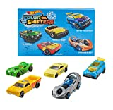 Hot Wheels Shifters Pack de 5 coches que cambian de color, modelo surtido (Mattel GMY09)