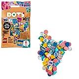 DOTS Tiles Extra: Edición 2 DIY Set de Cuentas con 10 Encantadores Sorpresas, Arte y Manualidades para Niños, multicolor (Lego ES 41916)