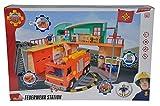 Sam el bombero - Estación con Figura del Oficial Steele (Simba 9258282)