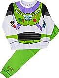 Buzz Lightyear Pijama Novedad Disfraz Toy Story Conjunto Pijama - blanco, Verde, 18 - 24 Months