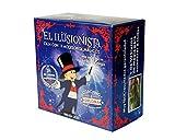 MAGIC SECRET - Caja de Magia para niños (5+) - El Ilusionista - Aprende +45 Trucos de Magia Profesionales - 88 Videos (App iOS & Android) + 11 Accesorios + Coaching por Mago Profesional