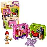 LEGO Friends - Cubo Tienda de Juegos de Stephanie Caja de Juguete, Incluye Mini Muñeca de Stephanie para Niñas y Niños a partir de 6 años, Juguete de Centro de Belleza, Multicolor