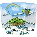 Fajiabao Circuito Canicas Bloques Construccion Niños - Juegos Educativos Magneticos Juguetes Montessori para Niños 5 6 7 años