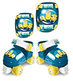 Stamp Set Rollers + E/K Pads Minions 2,Taille 23-27 Roller, Azul