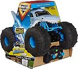 Monster Jam Megalodon STORM - Camión monstruo de control remoto todo terreno, escala 1:15