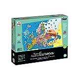 Diset- Países de Europa - Puzzle educativo para aprender la geografía europea a partir de 7 años