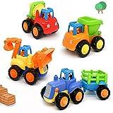 Kit de 4 camiones de juguete