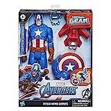 Avengers Figura Titan Con Accesorios Capitan América (Hasbro E73745L0)
