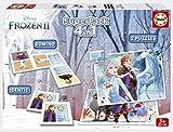 Educa Borrás- Frozen 2 Pack Contiene 2 Puzzles, 1 Juego de Memoria y 1 Domino, a Partir de 3 años, Color variado (18378) , color/modelo surtido