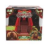 Giochi Preziosi Gormiti, Serie 2, Action Playset Fire Castle, con Personaje de 5 cm Incluido