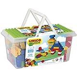 Falomir- Contenedor Juego de construcción, Multicolor (8502)