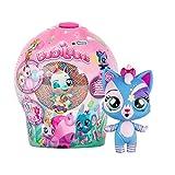 Bubiloons Mini muñeca animalito sorpresa coleccionable que inflan Globos, Cápsula Caramelo con Bolitas de Colores Juguetes animales para niña y niño a partir de 3 años