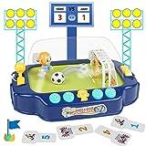 Fajiabao Futbolín de Mesa Juguetes - Portátil Mini Futbolines para Niños 3 en 1 Fútbol Mesa Multijuegos Regalo para Adultos Niños Niñas 3 4 5 6 7 Años