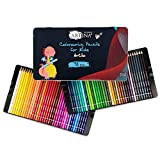 Artina lápices de colores para niños Artilo Set de 72 lápices - Juego XL de pinturas para niños de madera FSC irrompibles – para dibujar y colorear – En casa o colegio