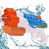 Pistola de Agua de Juguete para Niñas de Niños, Potente Chorro de Agua con un Alcance Largo 33ft, Water Pistol Gun para Batalla de Agua, Fiestas de Verano al Aire Libre, Capacidad de 1200CC